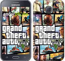 "Чехол на Samsung Galaxy J2 J200H GTA 5. Collage ""630c-190"""