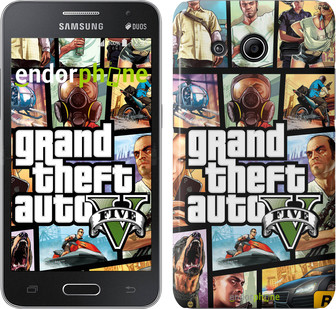 "Чехол на Samsung Galaxy Ace 4 Lite G313h GTA 5. Collage ""630u-208"""