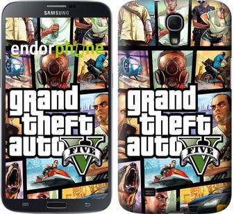 "Чехол на Samsung Galaxy Mega 6.3 i9200 GTA 5. Collage ""630u-167"""