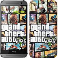 "Чохол на HTC One M8 GTA 5. Collage ""630c-30"""
