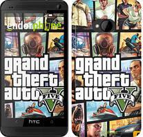 "Чохол на HTC One M7 GTA 5. Collage ""630c-36"""