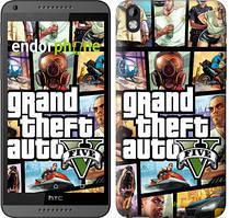 """Чохол на HTC Desire 816 GTA 5. Collage """"630u-169"""""""