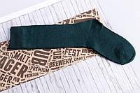 Носки подросток девочка  зеленые