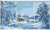 Схема для вышивки Зима