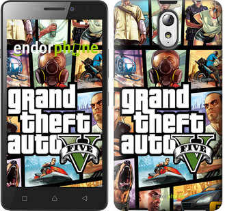 "Чохол на Lenovo Vibe P1m GTA 5. Collage ""630c-154"""