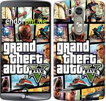 """Чохол на LG G3 D855 GTA 5. Collage """"630c-47"""""""