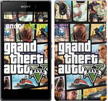 """Чехол на Sony Xperia Z1 C6902 GTA 5. Collage """"630c-38"""""""