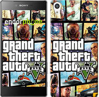 "Чохол на Sony Xperia Z5 Premium GTA 5. Collage ""630u-345"""