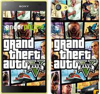 """Чехол на Sony Xperia Z5 Compact E5823 GTA 5. Collage """"630u-322"""""""
