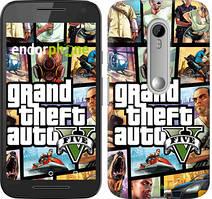 "Чохол на Motorola Moto G3 GTA 5. Collage ""630u-318"""