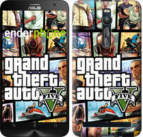 "Чохол на Asus Zenfone 2 ZE551ML GTA 5. Collage ""630c-122"""