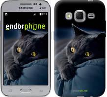"""Чохол на Samsung Galaxy J1 Mini J105H Димчастий кіт """"825c-258"""""""