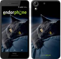 """Чохол на HTC Desire 728G Димчастий кіт """"825u-145"""""""