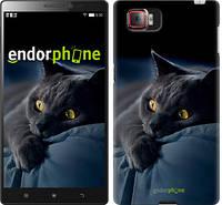 "Чехол на Lenovo Vibe Z2 Pro k920 Дымчатый кот ""825u-284"""
