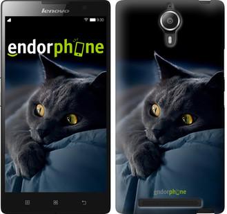 "Чехол на Lenovo Vibe C2 Дымчатый кот ""825c-397"""