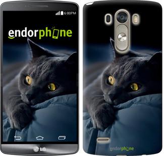 """Чехол на LG G4 H815 Дымчатый кот """"825c-118"""""""