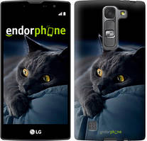 """Чохол на LG G4s H734 Димчастий кіт """"825c-389"""""""