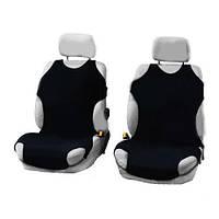 Майки сидения передние Elegant 105252  черные х/б