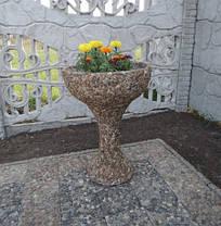 """Вазон садовый для цветов """"Глория"""" бетонный , фото 2"""