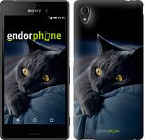 """Чохол на Sony Xperia C4 Димчастий кіт """"825u-295"""""""