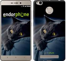 """Чехол на Xiaomi Redmi 3 Pro Дымчатый кот """"825c-341"""""""