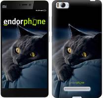"""Чехол на Xiaomi Mi4i Дымчатый кот """"825c-177"""""""