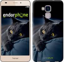 """Чохол на Huawei Honor 5C Димчастий кіт """"825u-356"""""""