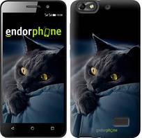 """Чохол на Huawei Honor 4C Димчастий кіт """"825u-183"""""""