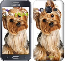 """Чехол на Samsung Galaxy J2 J200H Йоркширский терьер с хвостиком """"930c-190"""""""