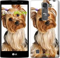 """Чохол на LG G4s H734 Йоркширський тер'єр з хвостиком """"930c-389"""""""