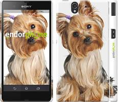 """Чохол на Sony Xperia Z C6602 Йоркширський тер'єр з хвостиком """"930c-40"""""""