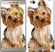 """Чехол на Xiaomi Redmi 3 Pro Йоркширский терьер с хвостиком """"930c-341"""""""