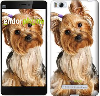 """Чохол на Xiaomi Mi4 Йоркширський тер'єр з хвостиком """"930u-163"""""""