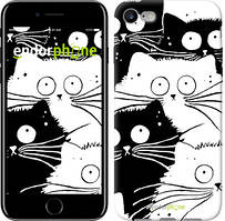 "Чехол на iPhone 7 Коты v2 ""3565c-336"""