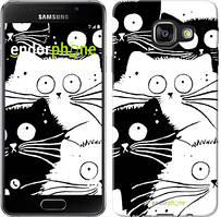 """Чохол на Samsung Galaxy A3 (2016) A310F Коти v2 """"3565c-159"""""""