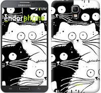 "Чехол на Samsung Galaxy Note 3 Neo N7505 Коты v2 ""3565u-136"""