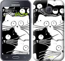 """Чохол на Samsung Galaxy J2 J200H Коти v2 """"3565c-190"""""""