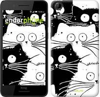 "Чохол на HTC Desire 728G Коти v2 ""3565u-145"""