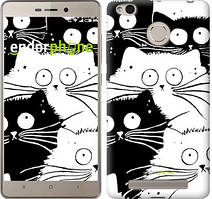 "Чехол на Xiaomi Redmi 3 Pro Коты v2 ""3565c-341"""