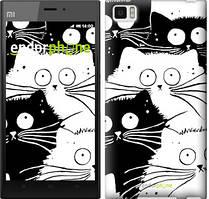 "Чохол на Xiaomi Mi3 Коти v2 ""3565u-170"""