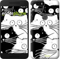 """Чехол на Huawei Nexus 6P Коты v2 """"3565u-148"""""""