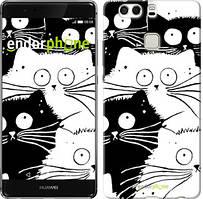 """Чохол на Huawei P9 Plus Коти v2 """"3565u-300"""""""