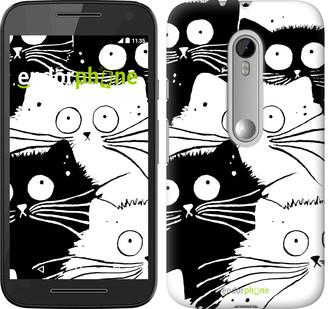 """Чехол на Motorola Moto G3 Коты v2 """"3565u-318"""""""