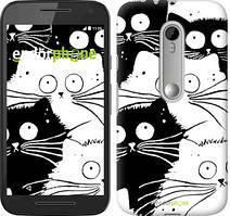 "Чохол на Motorola Moto G3 Коти v2 ""3565u-318"""