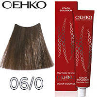 C:EHKO Крем-краска для волос Color Explosion Тон №06/0 темный блондин
