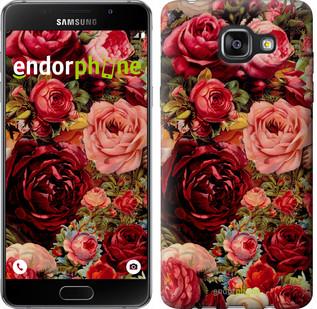 """Чехол на Samsung Galaxy A5 (2016) A510F Цветущие розы """"2701c-158"""""""