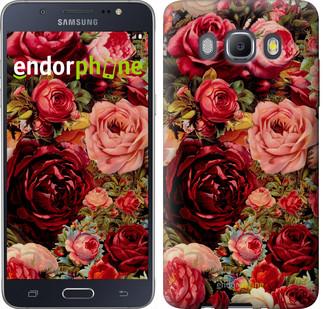 """Чехол на Samsung Galaxy J5 (2016) J510H Цветущие розы """"2701c-264"""""""