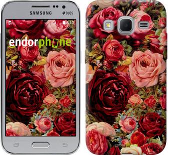 """Чехол на Samsung Galaxy J1 Mini J105H Цветущие розы """"2701c-258"""""""