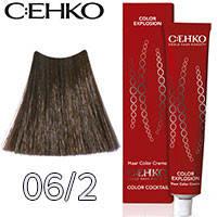 C:EHKO Крем-краска для волос Color Explosion Тон №06/2 темно пепельный блонд