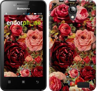 """Чехол на Lenovo A319 Цветущие розы """"2701u-196"""""""